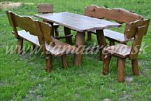 9b18ac0600ba Záhradné dubové masívne sedenie 9
